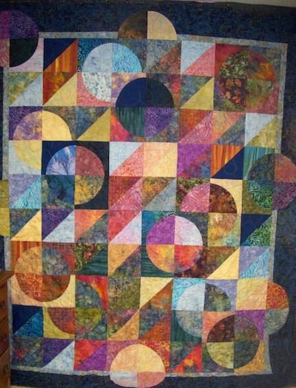 Moon batik