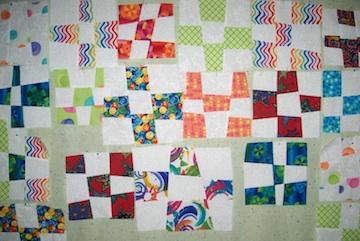 Dunn scrap quilt