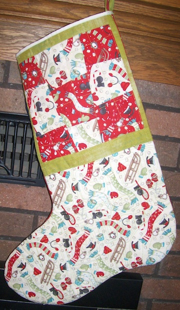 AJ stocking home