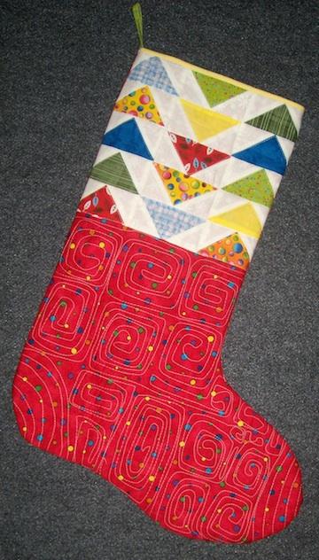 AJ's stocking 1