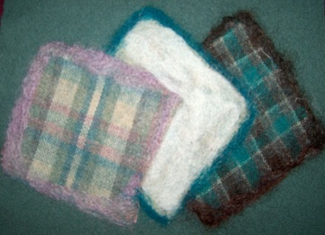Wool needlefelting 4
