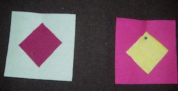 Wool squares 1