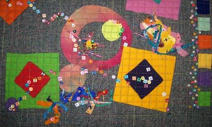 Wool squares 16