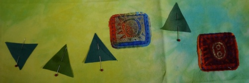 Raw edge applique 3