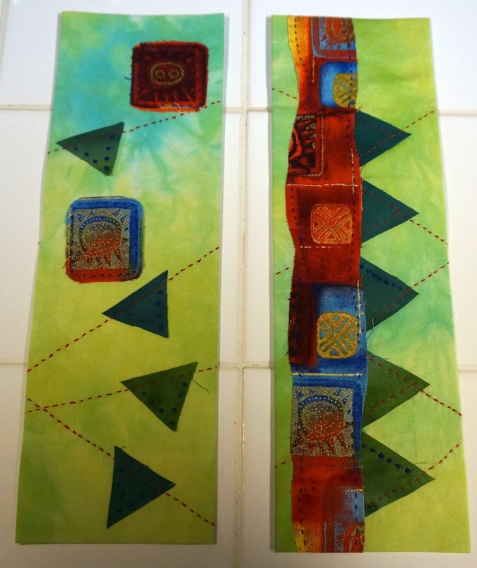 Raw edge applique 4