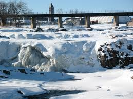 icy Sioux Falls