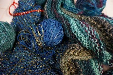 Lazy knit 1