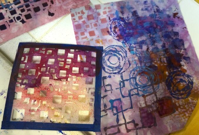 Glue stencils 3