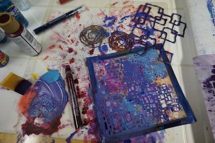 Glue stencils 4