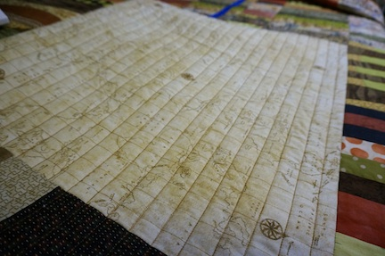 Map quilting 1