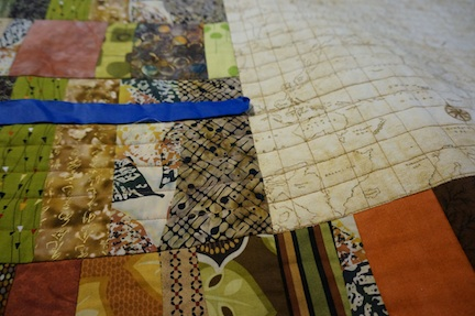 Map quilting 2
