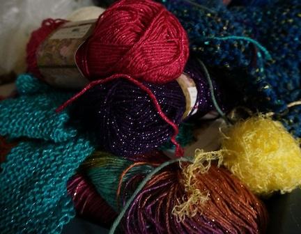 Use up yarn 1