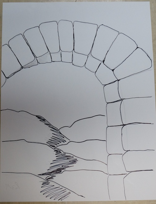 Arch drawing 1