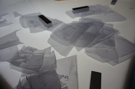 Paper pieces 1