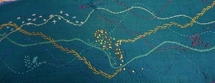 Silk stitching 2