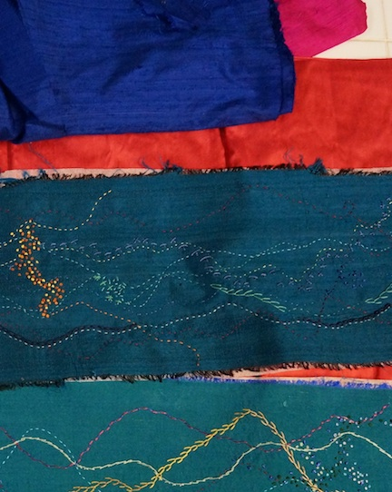 Silk stitching 3