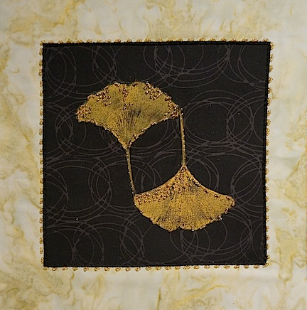 Black:gold gingko