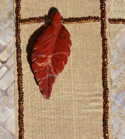 WS leaf beads detail 1