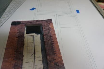 brick door 1