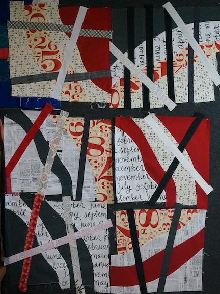 Text quilt 1