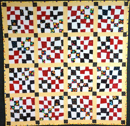 Baby quilt for B