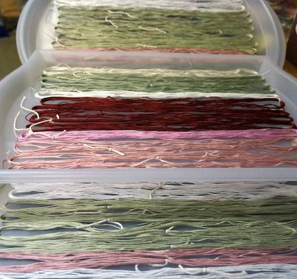 Dye floss 1