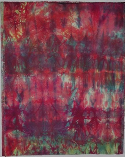 dyed fabric correct