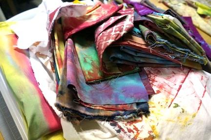 Redye fabric