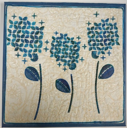 WS Hydrangea blue