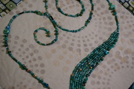 Beaded heart ideas 18