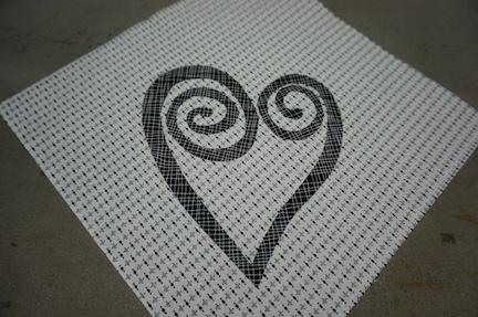 Beaded heart ideas 6