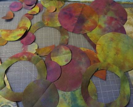 Dyed circles 1