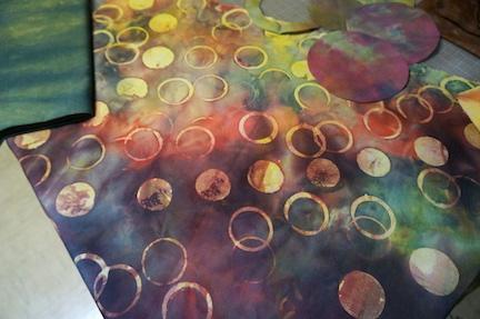 Dyed circles 2