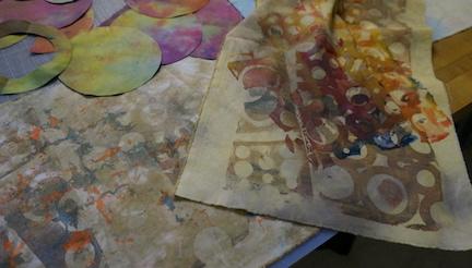 Dyed circles 3