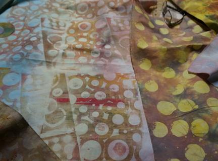 Dyed circles 4