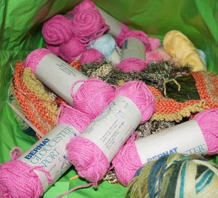 Yarn de-stash