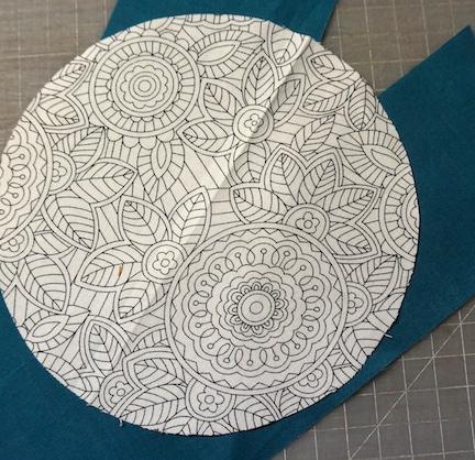 Circle collage start