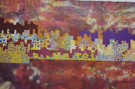Desert City Sunset 8
