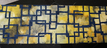 Blue bkgrd step 5