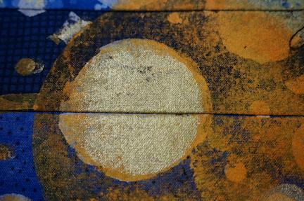 Blue bkgrd step