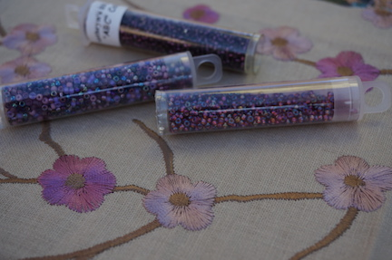 WS smaller floral beads