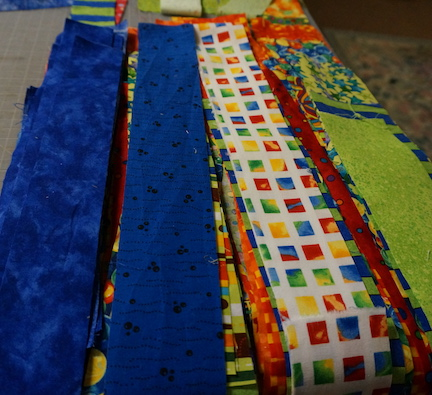 Leah's baby quilt 2
