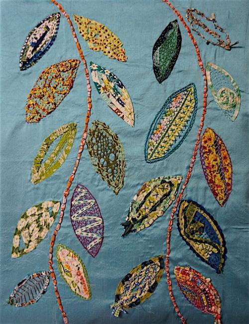 Shredded Leaves 1