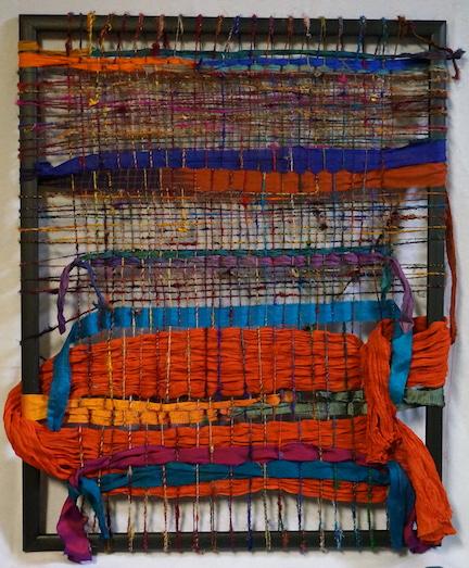 Woven sample 8