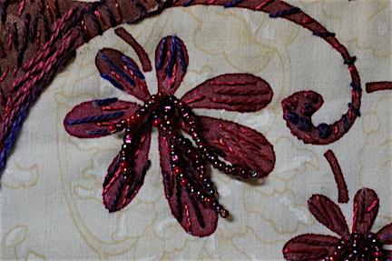 WS Plum Blossom detail