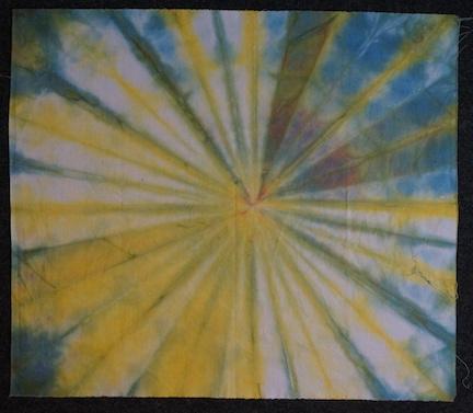 Dye day folds 1