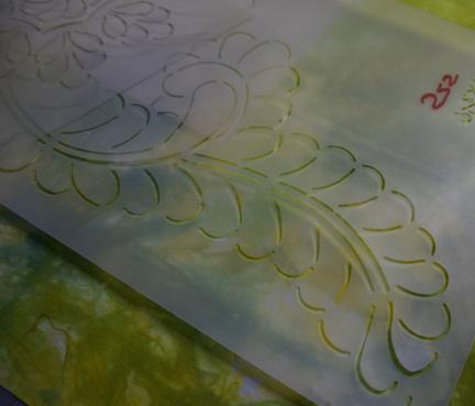 Handwork and stencils 2