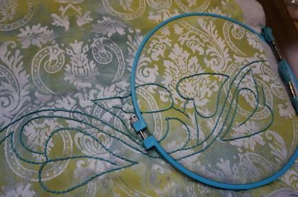 Handwork and stencils 21