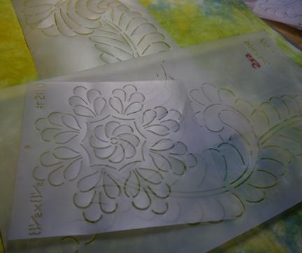 Handwork and stencils 3