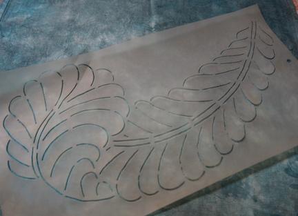 Handwork and stencils 4